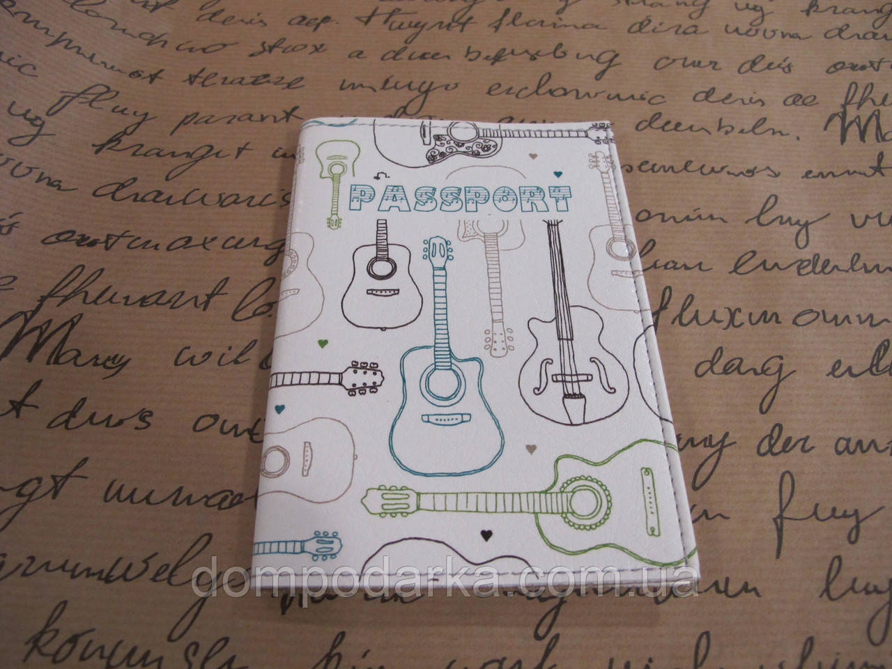 "Обложка на паспорт ""Струны Джими Хендрикса"""