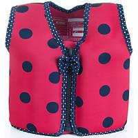 Konfidence Плавательный жилет Konfidence Original Jacket, Ladybird Polka, M/ 4-5 л. (KJ05-C-05)