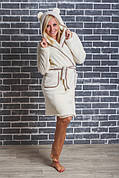Женские махровые, велюровые халаты