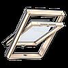 Мансардное окно Velux Optima линия стандарт 78*140 см, ручка снизу + оклад