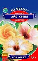 Семена Гибискуса бело-кремовый Айс Крим d=6-8cm однолетний