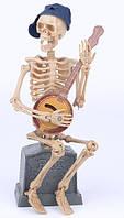 Скелет-музыкант (талантливый музыкант, виртуоз) - декор на хэллоуин