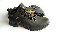 Мужские  зимние кожаные ботинки Ecco Infinity black 44