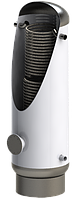 Теплоаккумулирующая емкость ТАЕ-ТО-Г2- 1500 литров ( ревизия,два гофрированных теплообменика,без изоляции)