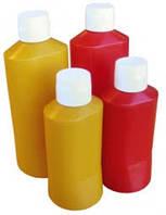 Бутылка для кетчупа и горчицы, красная, 0,6 л Ø 83x194 мм