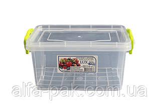 Контейнер пластиковый Lux 1,5 л