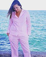Пижама для девушки из 100% хлопка, в мелкий горошек