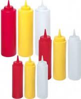 Диспенсер для соусов Kitchen Line, красный,0,20 л, Ø 50x185 мм