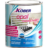 Матова фарба для металу та дерева  Kober Opal 0,75л