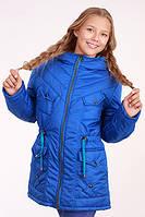 Куртка (парка) для девочки демисезонная Лера на рост 158 см, цвета в ассорт.