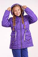 Куртка (парка) для девочки демисезонная Лера на рост 146 см, цвета в ассорт., фото 1