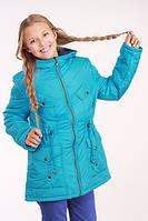 Куртка (парка) для девочки демисезонная Лера на рост 152 см, цвета в ассорт., фото 1