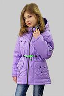 Куртка (парка) для девочки демисезонная Лера на рост 134 см, цвета в ассорт., фото 1