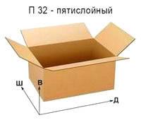 Гофроящики - П 32 (под заказ)