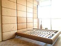 Мягкие стеновые панели, мягкие плиты в ткани, коже, кожезаменителе на заказ Одесса, фото 1