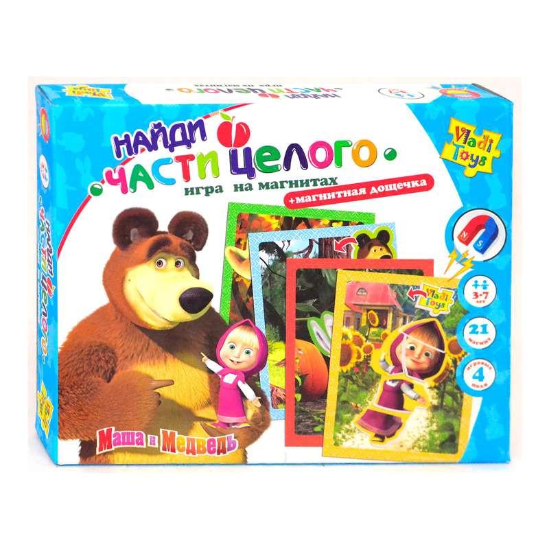 Настольная игра магниты Найди часть целого - Сувениры и бижутерия в магазине подарков Поле Чудес в Киеве