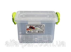 Контейнер пластиковый минилюкс 0,45 л