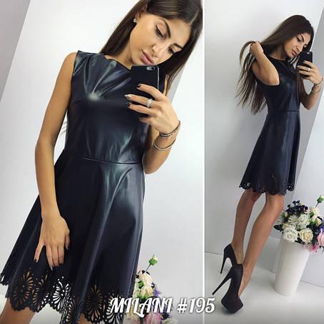 Платье из экокожи , фото 2