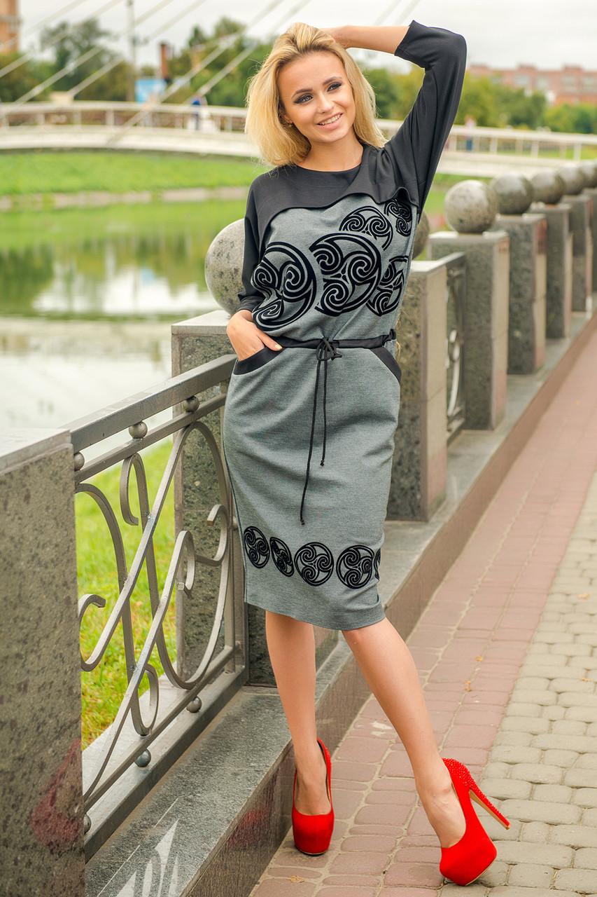 Трикотажные женские платья от харьковских производителей