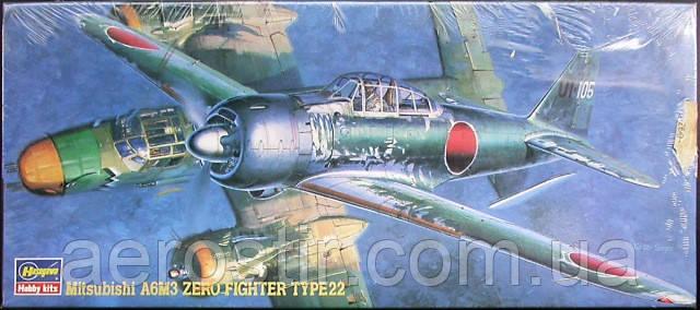 Mitsubishi A6M3 ZERO FIGHTER type22 1/72 HASEGAWA 51315