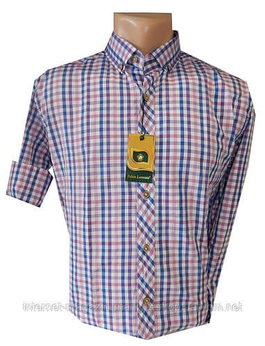 Рубашка мужская трансформер клетка