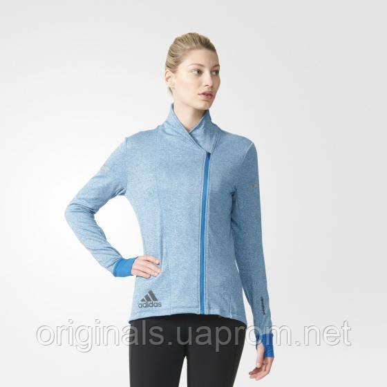 Теплый джемпер женский adidas Sequencials Wraparound Sweatshirt AZ6138