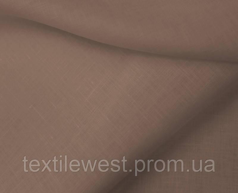 Ткань льняная сорочечная