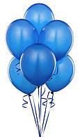 Воздушные шары  латексные, синие 25 см.
