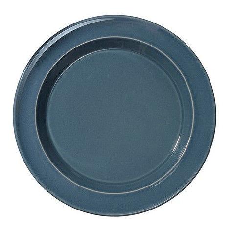 Тарелка Emile Henry 21 см голубая 978870