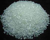 Полиэтилен в гранулах и дробленый, вторичное сырье ПВД, ПНД