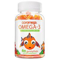 Омега-3 для детей в виде жевательных конфет от Coromega (60 штук)