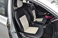 Чехлы модельные с Еко-кожи Chevrolet Aveo H/B 2005-2011