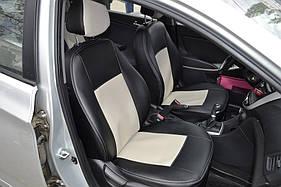 Чехлы модельные с Еко-кожи Peugeot 107 2009-