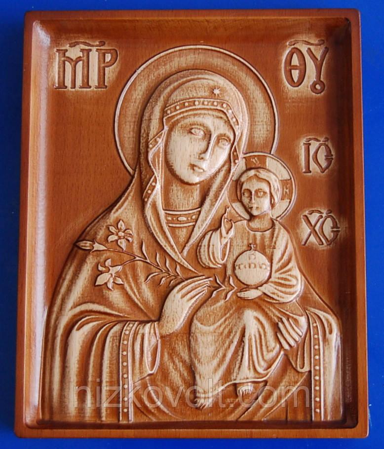 Ікона Божої Матері «Нев'янучий Цвіт» («Пахучий Цвіт») (160х200х18)