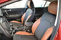 Чехлы модельные с Еко-кожи Nissan Juke 2010->