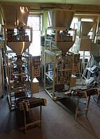 Фасовочно-упаковочный весовой автомат для упаковки сахара, семечки, макароны и т. п.