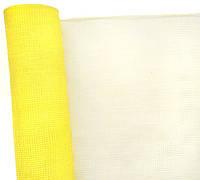 Сетка флористическая Normal mesh 53смх6м желтая