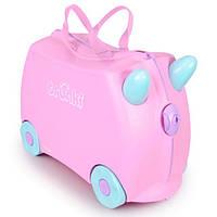 Детский дорожный чемоданчик  для девочки Rosie