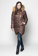 Куртка зимняя женская с мехом  р.44-52