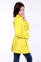 Плащ-ветровка для девочки Эльза на рост 152 см, цвет лимонный, фото 1