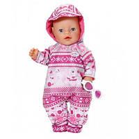 Набор зимней одежды для куклы Baby Born 43 см Комбинезон Zapf 821381