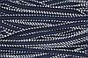 Тесьма-Кант дв. ПЭ 10мм (50м) т.синий+белый