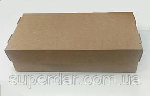 Упаковка для суші та інших страв, 100х200х50 мм, крафт