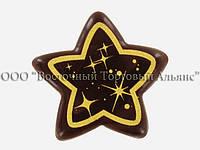 Формы для шоколада с переводным рисунком — 34350 Звезда Modecor