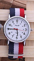Дизайнерские наручные часы с браслетом в виде флага