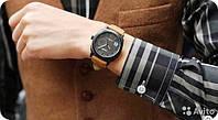 Мужские часы Curren в стиле милитари черный циферблат