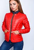 Куртка молодежная демисезонная с фигурным низом р.40-48