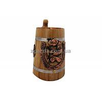 Бокал деревянный 0,5 л. (БД 01-42)