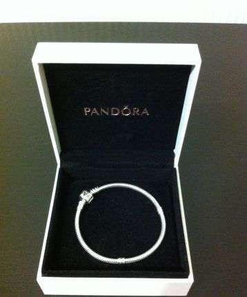 Браслет Pandora (Пандора) - серебряное украшение на руку (основа), серебро 925 в футляре - ДропПартнеры в Киеве