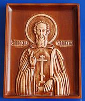 Икона Сергия Радонежского (160х200х18)